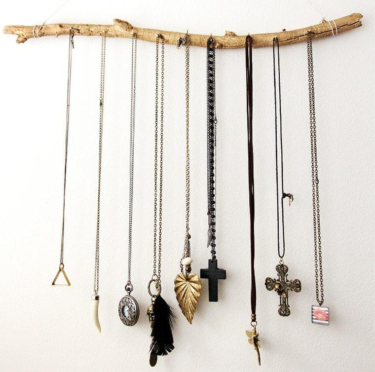 rama decorativa colgar joyas