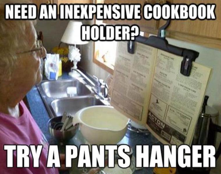 libro recetas cocina a la vista
