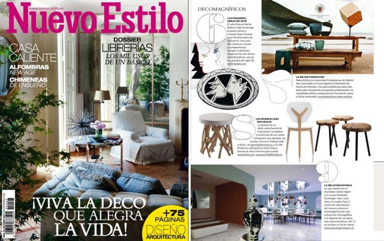 revista nuevo estilo decoración