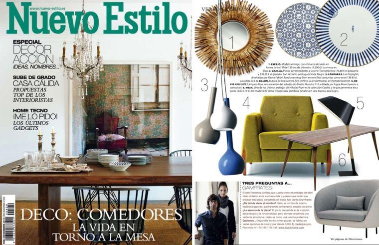 revista nuevo estilo interiores