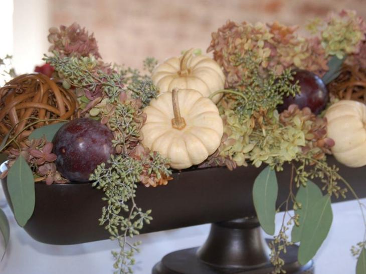 rustico concepto muestras calabazas frutas