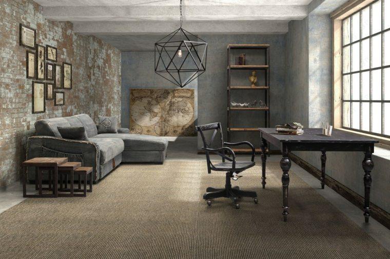 sala de estar moderna industrial