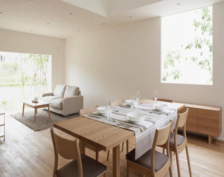 salon comedor diseño minimalista