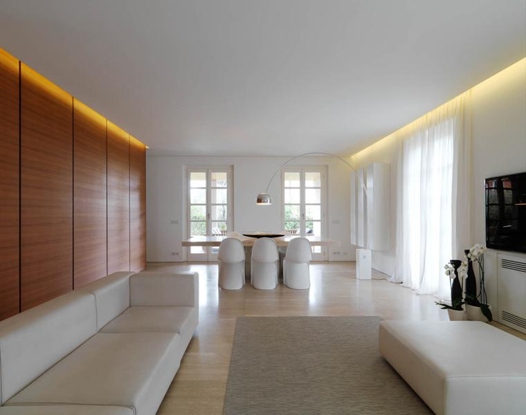 Interiores minimalistas disfruta de un espacio despejado Sleek homes that are unapologetically modern