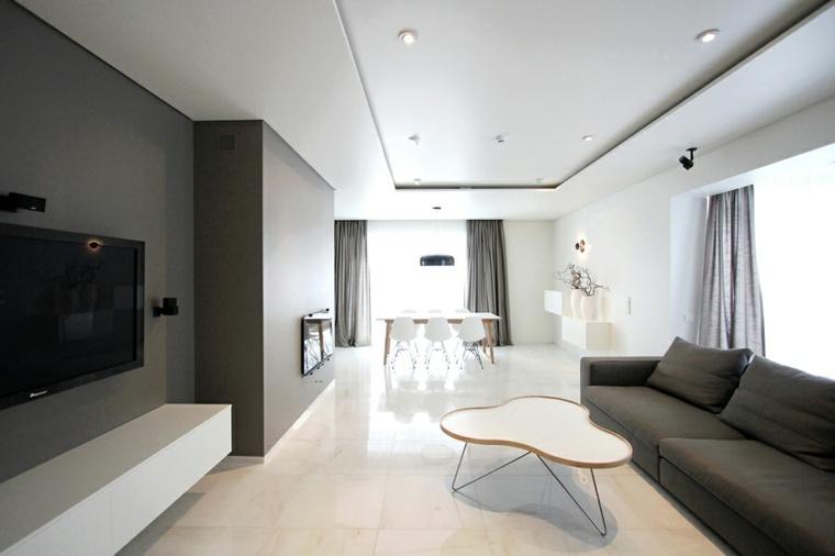 Ideas decoracion salon haz que tu interior brille - Bauhaus iluminacion interior ...