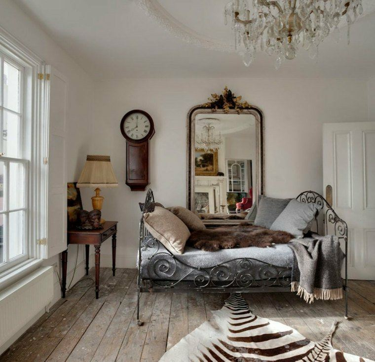 salones estilo romantico shabby chic muebles salon ideas