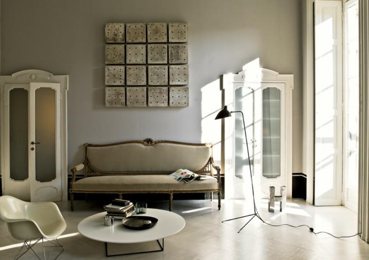 Salones con estilo y muebles shabby chic - Salones con estilo ...