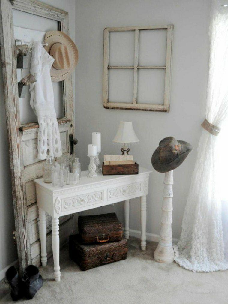 salones estilo shabby chic diseno interior muebles ideas