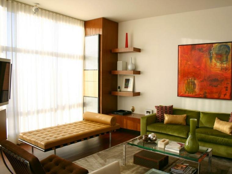 salones vintage estallido colores ideas