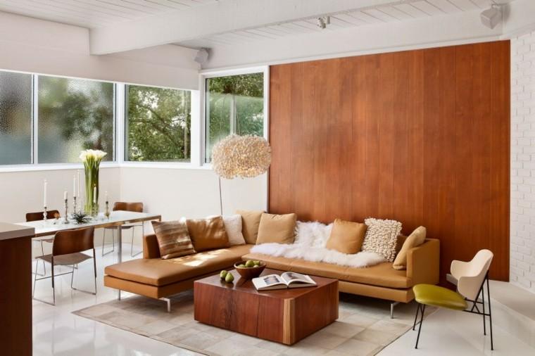 salones vintage pared madera diseno studio schicketanz ideas