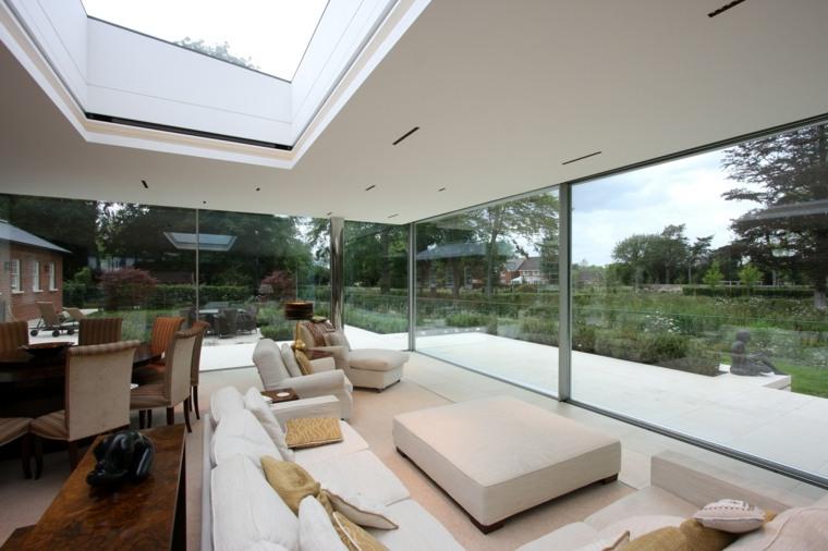 tejados de cristal