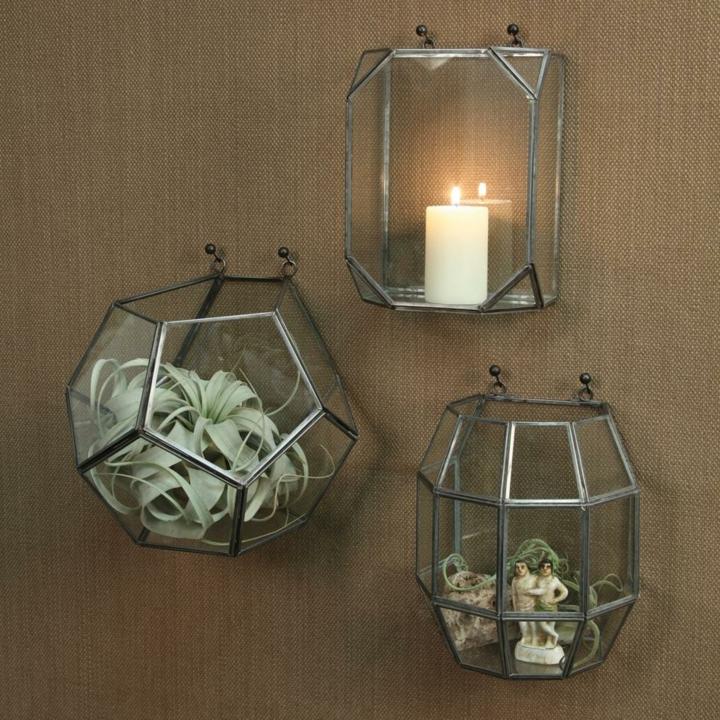 terrario candelabro modernos vidrio suelos