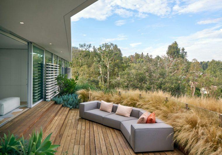 terraza original diseño paisaje