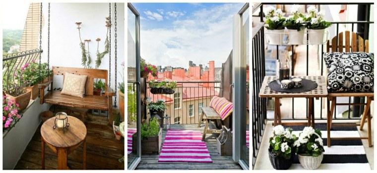 terrazas decoradas con plantas bonitas