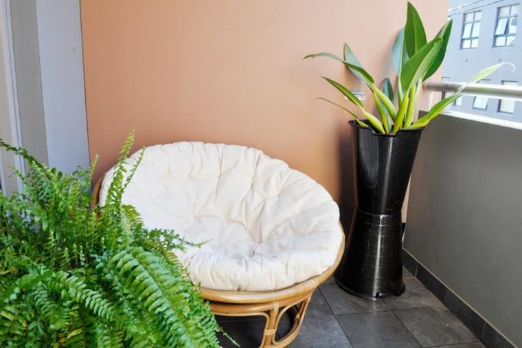 terrazas decoradas con plantas modernas