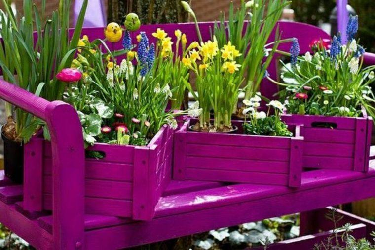 terrazas decoradas flores