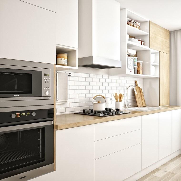 Textura madera para decorar la cocina - Losas para cocinas ...