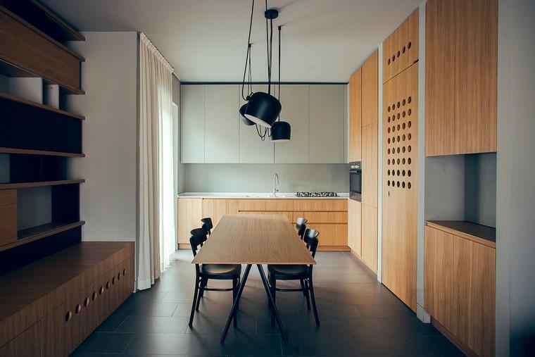 textura madera diseno cocina mesa comedor ideas