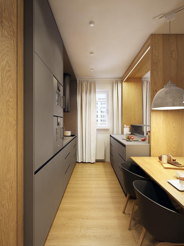 textura madera diseno cocina suelo paredes diseno ideas