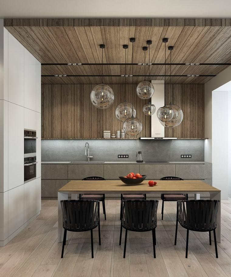 textura-madera-diseno-cocina-techo-pared