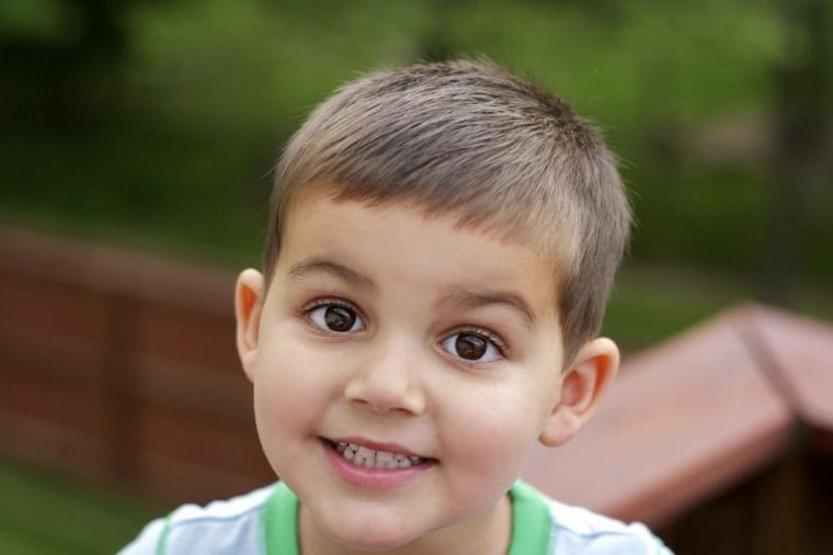 tipos de peinados para niños