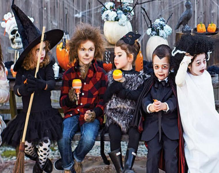 trajes halloween para niños