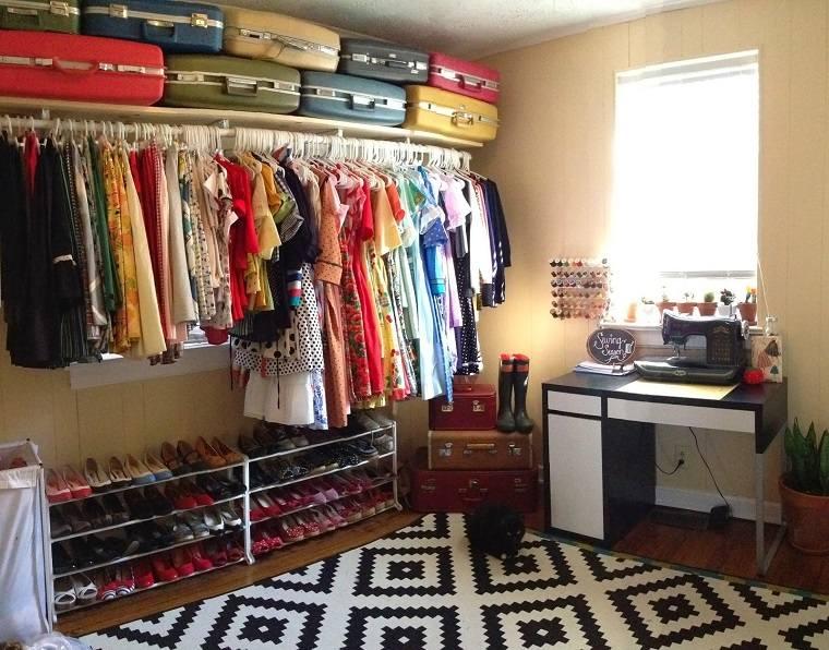vestido economico ideas alfombras