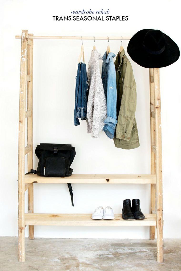 vestidor sencillo barato madera oroginal