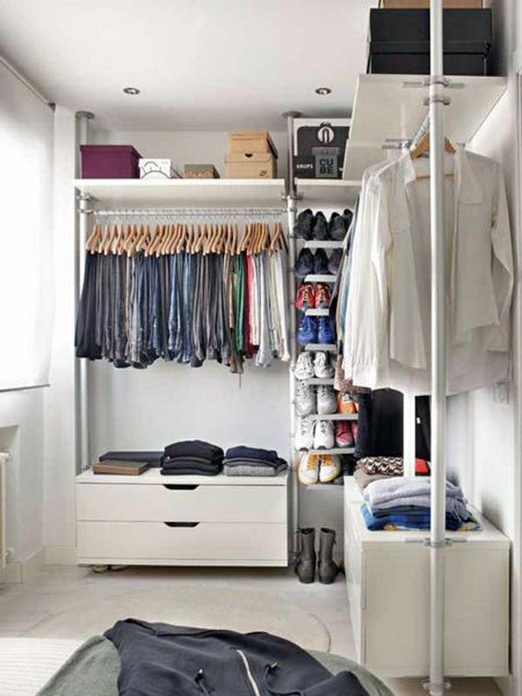 vestidor sencillo diseno moderno