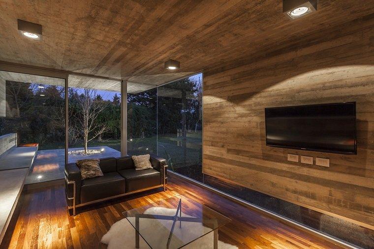 casas modernas vista interiores especiales muebles