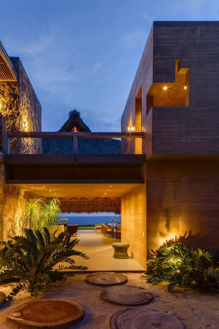 vistas impresionante casa moderna