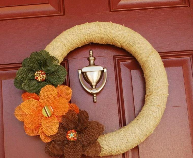 yute flores coloridas conceptos exteriores
