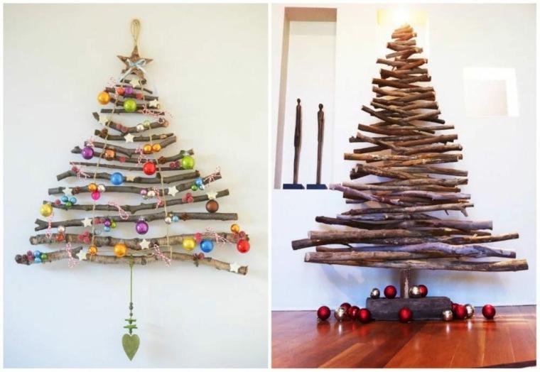árboles de Navidad ramitas