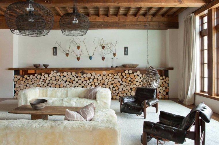 como decorar una habitacion rústica