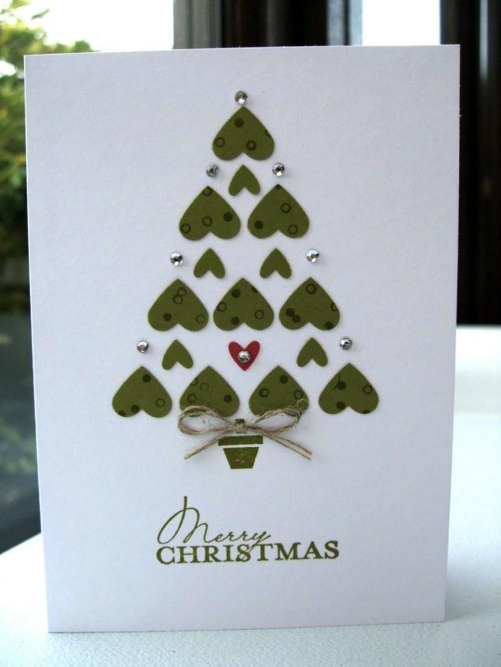 tarjetas de navidad originales que puedes hacer en tu casa