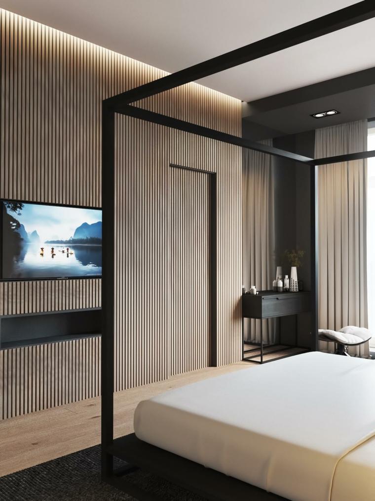 paredes madera modernas
