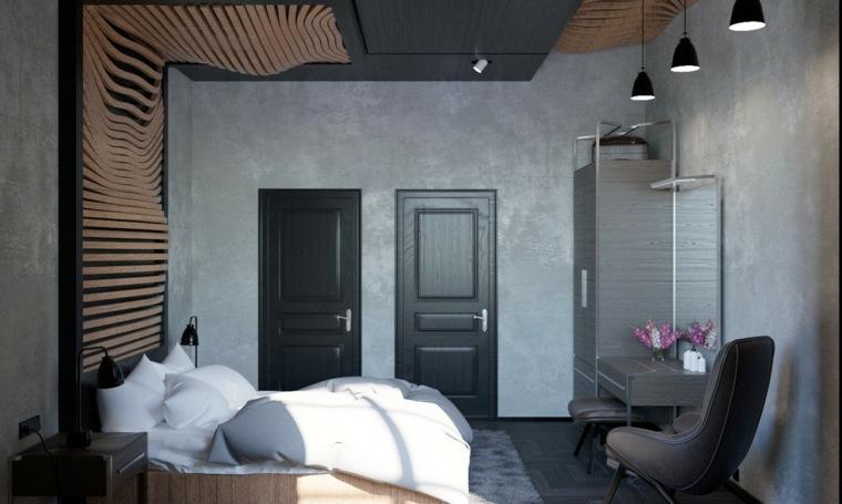 paredes grises cemento