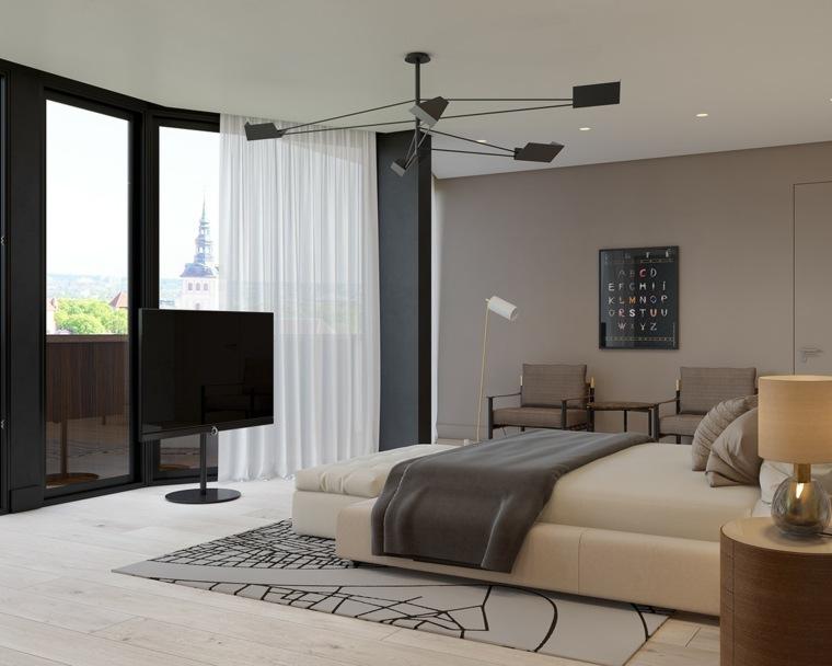 bonita habitación diseño moderno