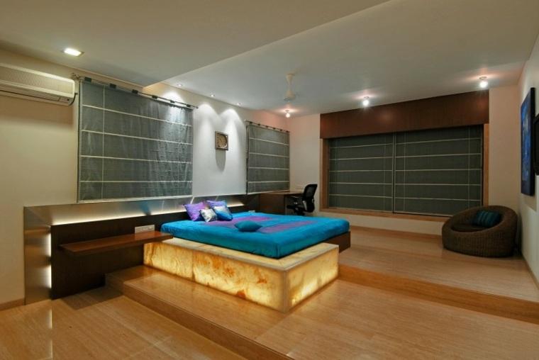 zz architects parte cama diseno dormitorio ideas