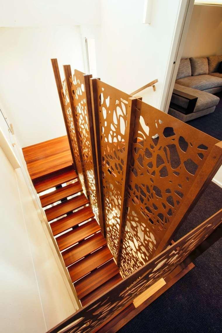 acero corten escaleras
