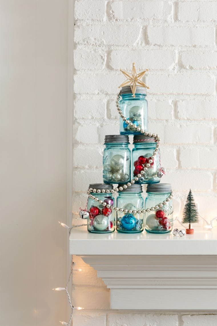 Cosas de navidad 43 ideas de manualidades para decorar for Adornos de navidad para hacer en casa