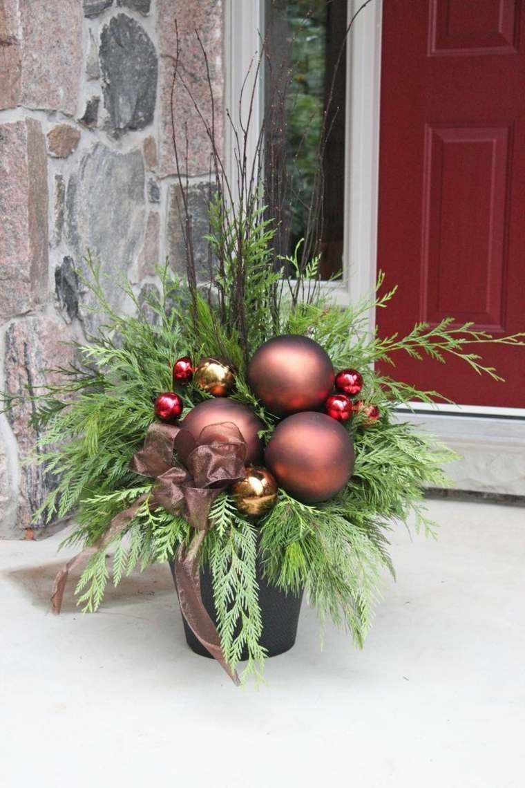 adornos navidenos originales jardin navidad decoracio exterior ideas
