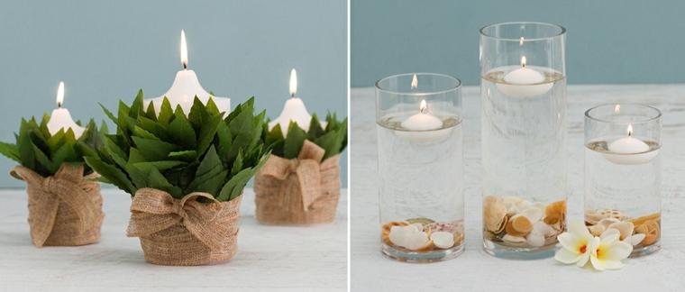adornos para velas decorativas