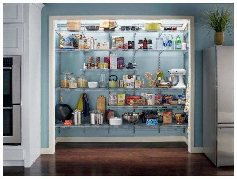 Despensas de cocina para ganar espacio - Alacenas de madera para cocina ...