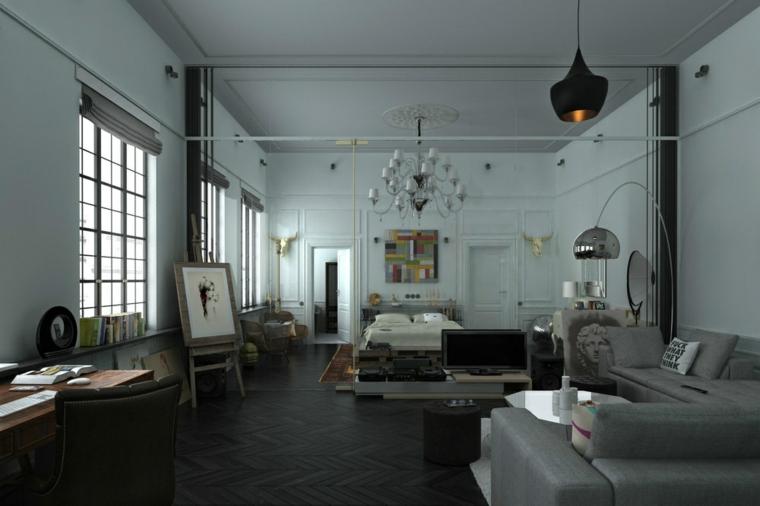 apartamento loft estilo nórdico