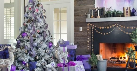 Árboles de navidad decorados, ideas interesantes