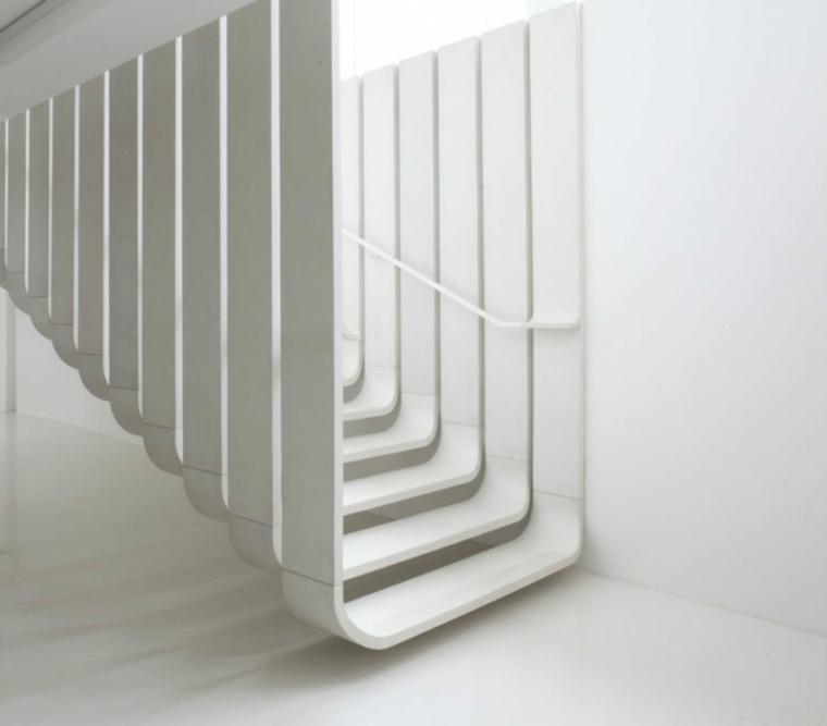 arquitectura diseno minimalista escaleras zaha hadid ideas