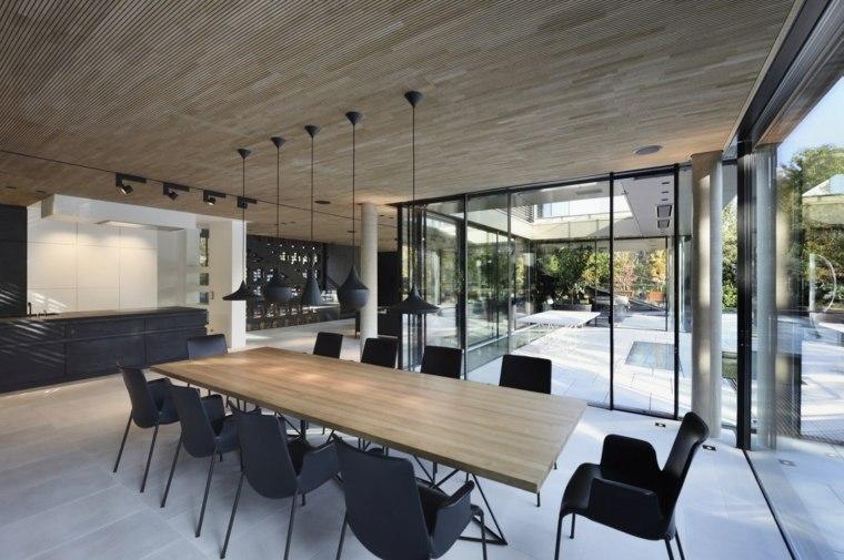arquitectura y diseño comedores modernos