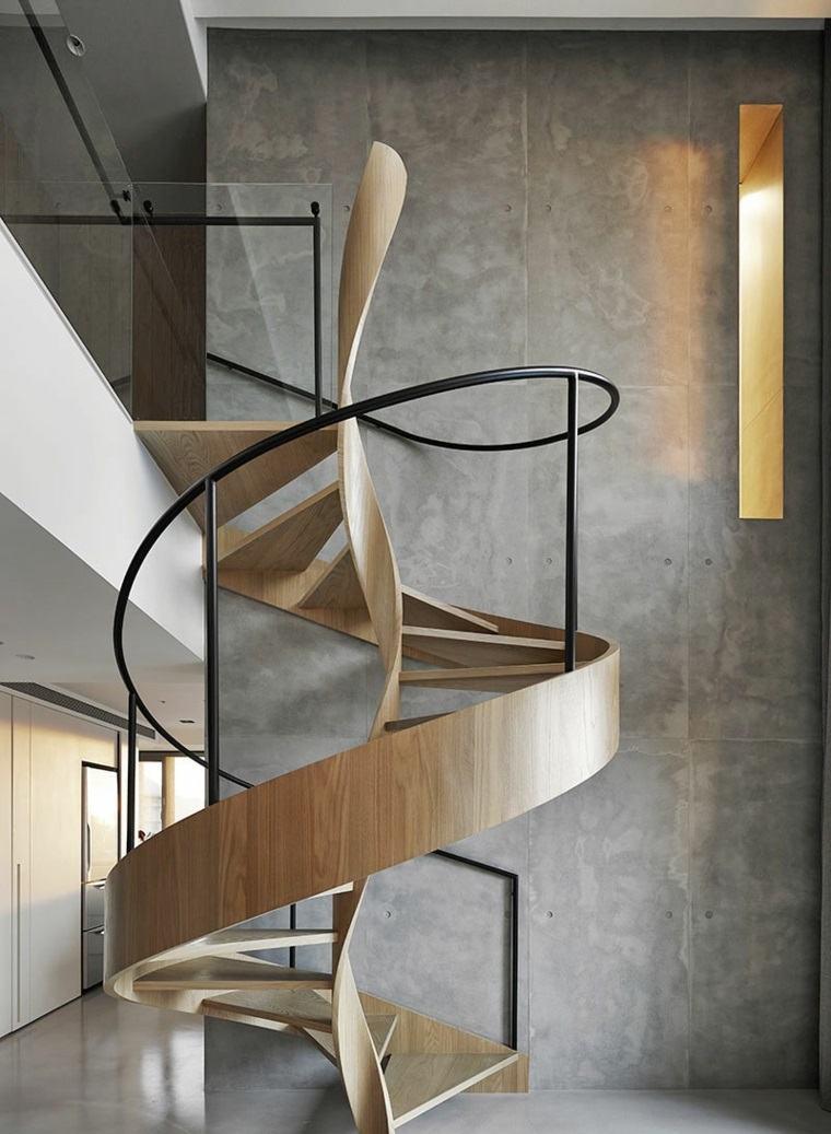 arquitectura y diseno escultural escalera caracol ideas