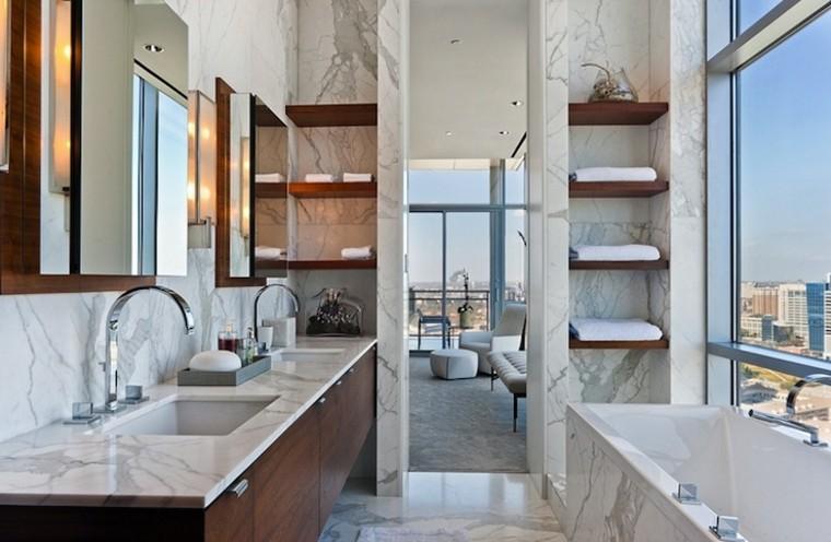 Tocadores y lavabos flotantes para el cuarto de ba o - Tocadores para habitacion ...
